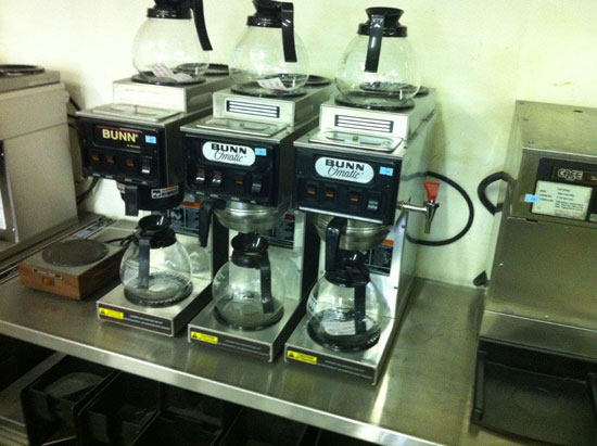 Bunn coffee makers with water hook up